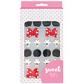 Mickey or Minnie Mouse Edible Cupcake Decorations (4 sets)