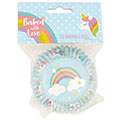 Baked with Love Unicorn Foil Baking Cups 25pcs