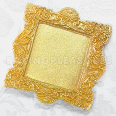 Katy Sue Vintage Square Frame Silicone Mould