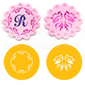 Wedding Doves Cookie Stencils  2pcs