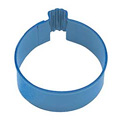 Wedding Ring Blue Resin Cookie Cutter