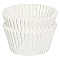 BULK White Grease Proof Large Baking Cups (#700) 500pcs