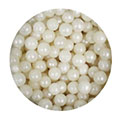 Pearlised Ivory White Edible Pearls 4mm 113g