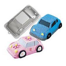 3D Car Novelty Cake PanTin