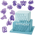Wilton Alphabet/Number Cut-Outs 40pcs