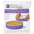 Wilton Bake Even Strips Set 6pcs