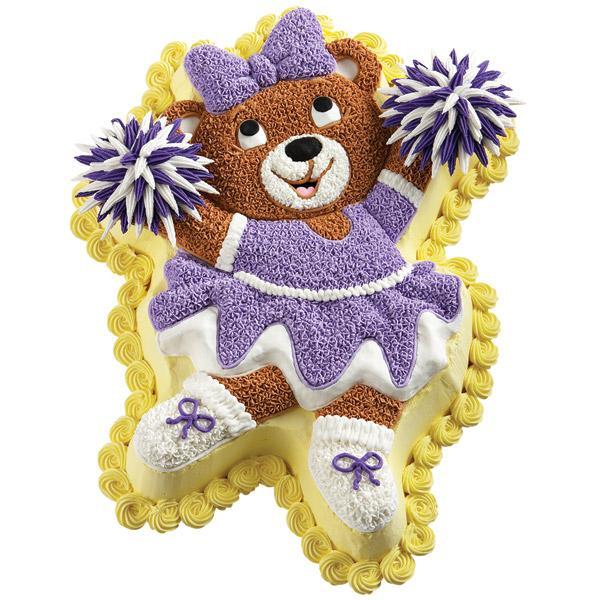 Wilton Ballerina Bear Novelty Cake Pan Tin