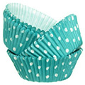 Wilton Blue Polka Dot Baking Cups 75pcs