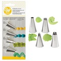 Wilton Borders Piping Tip Set 4pcs