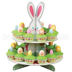 Wilton Bunny Treat Amp Egg Easter Cupcake Stand