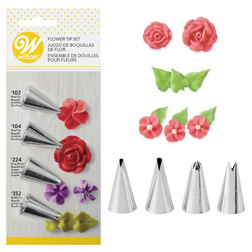 Wilton Buttercream Flower Piping Tip Set