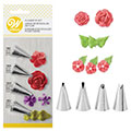 Wilton Buttercream Flower Piping Tip Set 4pcs