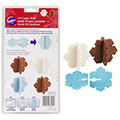 Wilton Christmas 3D Snowflake Chocolate Mould