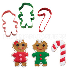 Wilton Christmas Frosted Fun Cutters
