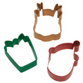 Wilton Christmas Holiday Cutter 3pcs