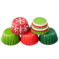 Wilton Christmas Holiday Mini Baking Cups 150pcs