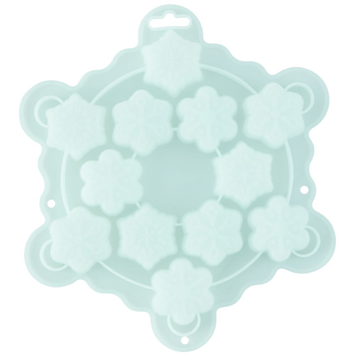 Wilton Christmas Snowflake Bite Size Silicone Mould