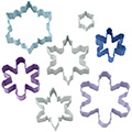 Wilton Christmas Snowflake Cookie Cutter Set