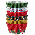 Wilton Christmas Traditional Holiday Baking Cups 150pc