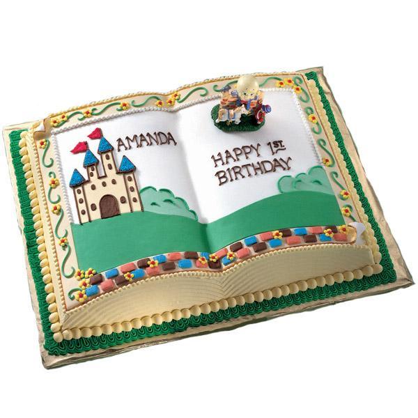 Open Book Shaped Cake Pan