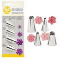 Wilton Drop Flowers Piping Tip Set 4pcs