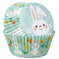 Wilton Easter Bunny Baking Cups 75pcs