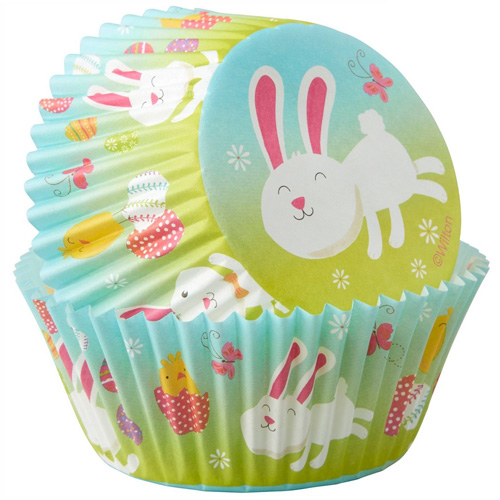 Wilton Easter Bunny & Chick Baking Cups 75pcs