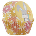 Wilton Easter Bunny Yellow Baking Cups 75pcs