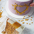 Wilton Edible Gold Sequins Confetti 283g (BB: Apr 2020)