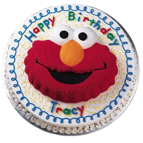 Wilton Elmo Face Novelty Cake Pan Tin