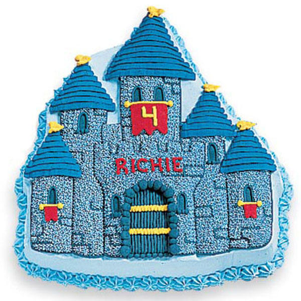 Wilton Enchanted Castle Novelty Cake Pan Tin