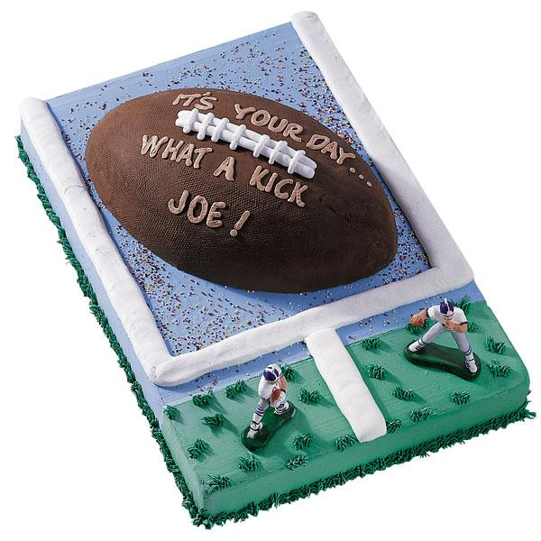Wilton First And Ten Football Novelty Cake Pan Tin