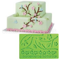 Wilton Fondant and Gum Paste Silicone Mould Nature