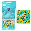 Wilton Flowers Mix Edible Sprinkles 56g