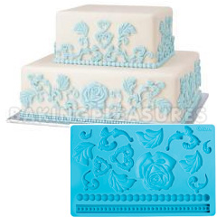 Wilton Fondant And Gum Paste Silicone Dimensional Mould