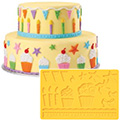 Wilton Fondant & Gum Paste Kids Party Mould