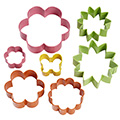 Wilton Garden Cookie Cutter 7pcs
