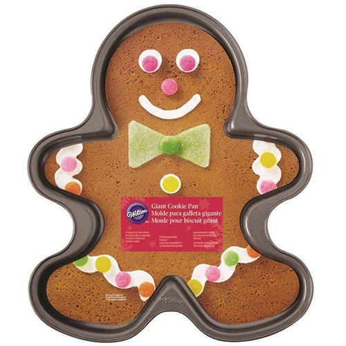Wilton Giant Gingerbread Boy Christmas Cookie Pan