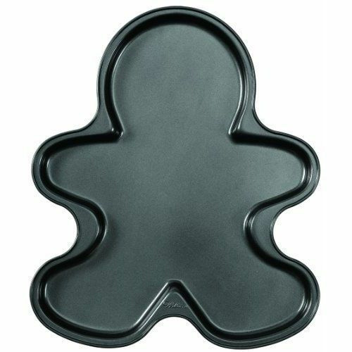 Wilton Giant Gingerbread Boy Christmas Cookie Pan (1.27cm Depth)