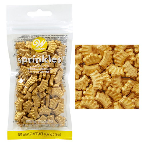 Wilton Gold Crown Sprinkles