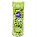 Wilton Green Apple Flavoured Sugar Pearls 127g
