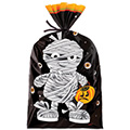 Wilton Halloween Mummy Metallic Treat Bags 8pcs