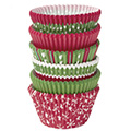 Wilton Holiday Traditional Multi Pack Christmas Baking Cups 150pcs