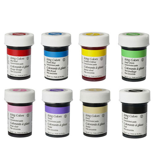 Wilton Icing Colour 8 Piece Set