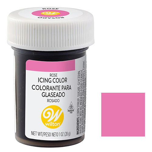 Wilton Icing Colour Rose 1 oz