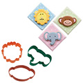 Wilton Jungle Pals Cookie Cutter Set 3pcs