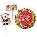 Wilton Merry & Bright Christmas Combo Pack 24pcs