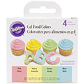 Wilton Pastel 4 Gel Food Colour Set