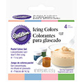 Wilton Pastel 4 Icing Colours Set