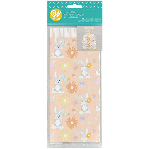 Wilton Patterned Easter Standard Treat Bags 20pcs